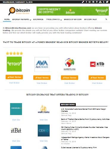 Bitcoin Broker Review