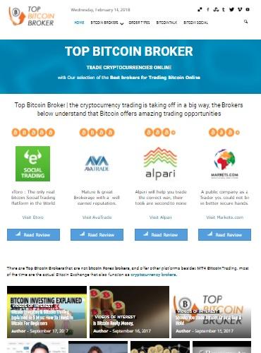 top bitcoin Broker